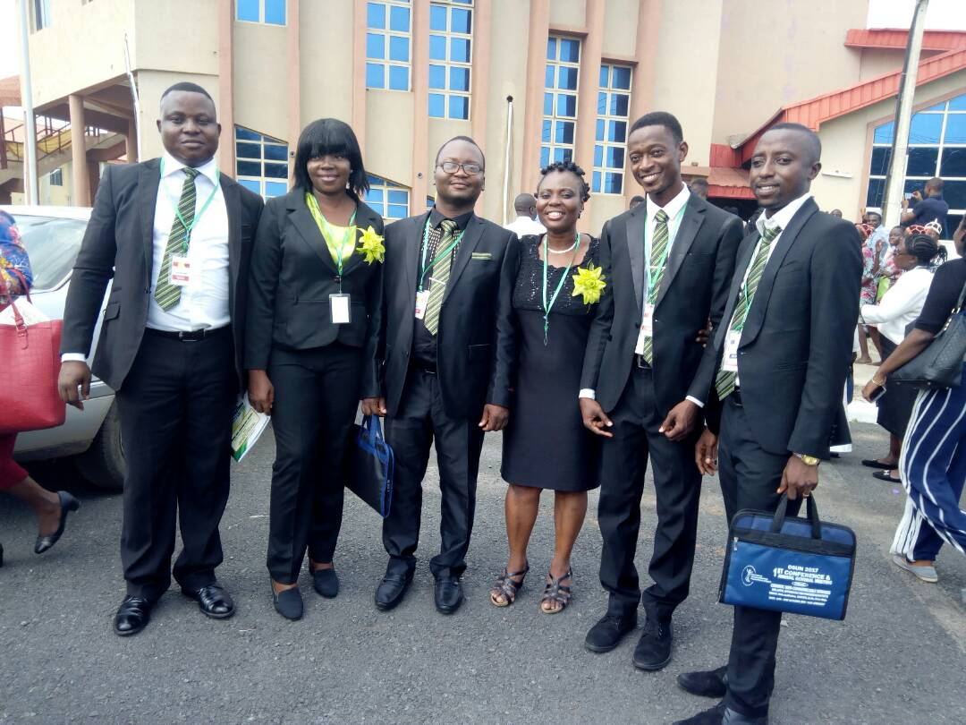 Scientific council at 1st Confr in Ile-Ife